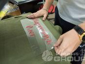 Зеленые флисовые толстовки с изображением мишени
