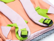 Розовые детские рюкзаки в виде свинки с логотипом «Лучше всех»