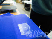 Синие футболки с логотипом «СЕЧЕНОВСКИЙ УНИВЕРСИТЕТ»