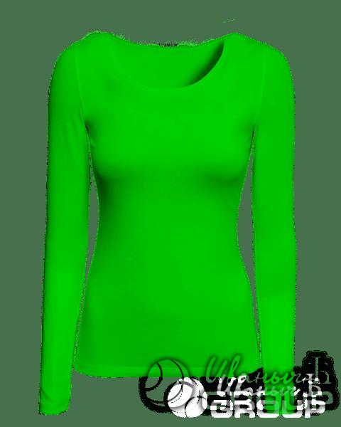 Зеленая сумка холщевая
