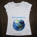 Печать принтов на футболке