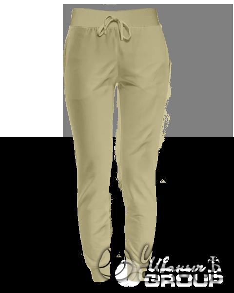Бежевые штаны женские