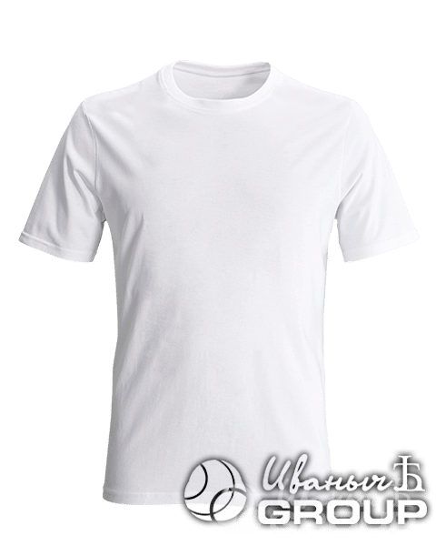 Белая футболка на заказ