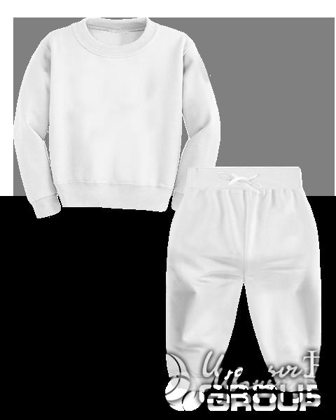 Белый костюм детский