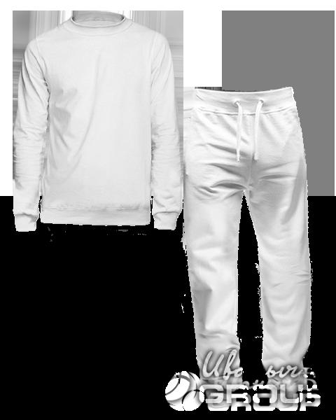 Белый костюм мужской