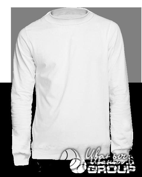 Белый свитшот мужской