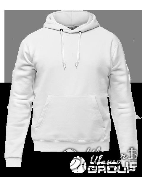 Белое худи премиум