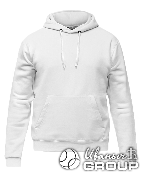 Белое худи стандарт