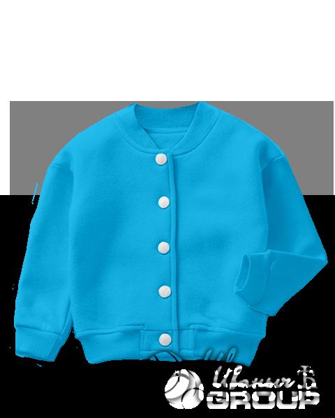 Голубой бомбер детский