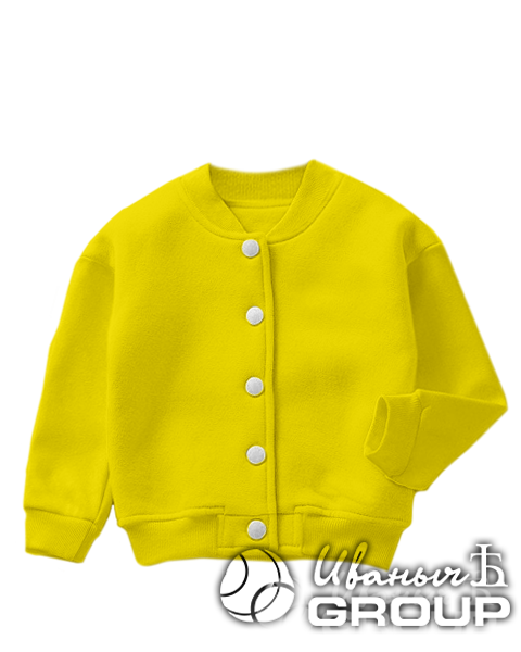 Желтый бомбер детский