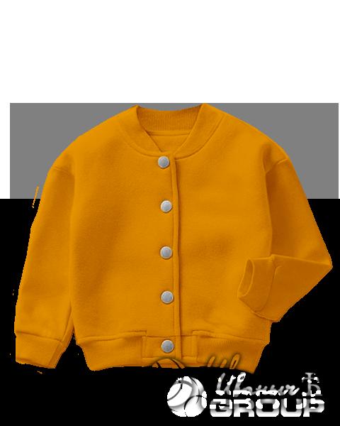 Оранжевый бомбер детский