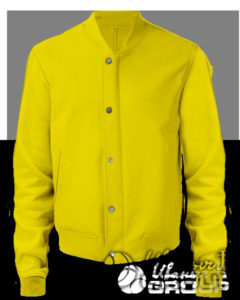 Желтый бомбер мужской