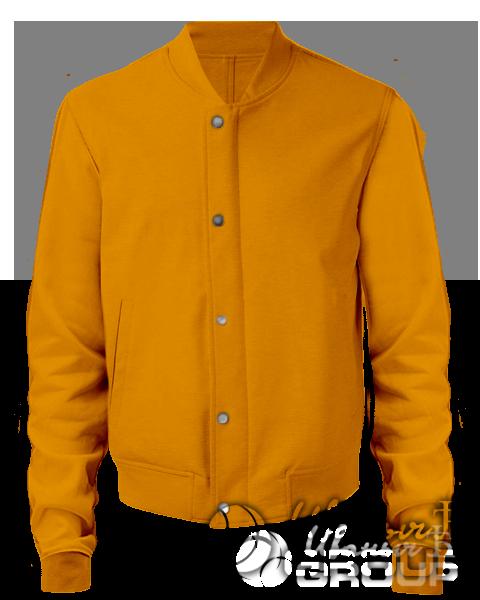 Оранжевый бомбер мужской