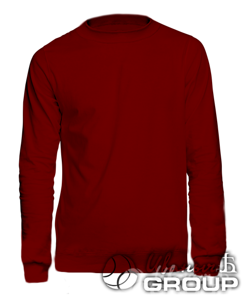 Бордовый свитшот на заказ