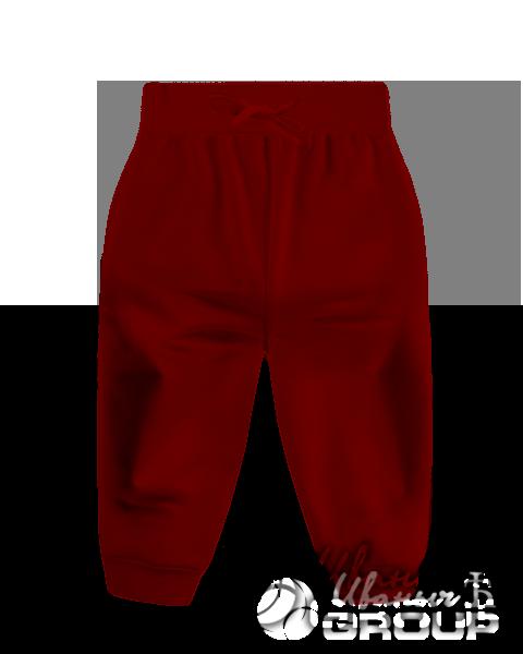 Бордовые штаны детские