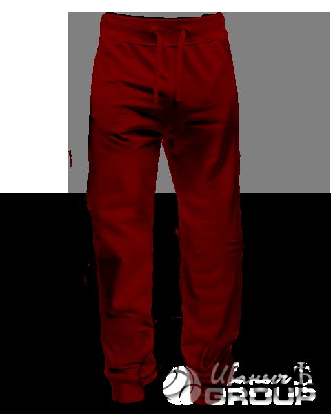 Бордовые штаны мужские