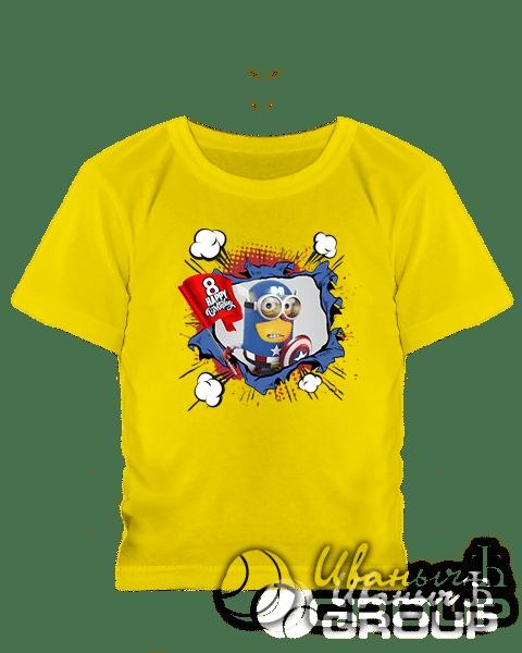 Печать принтов на футболках