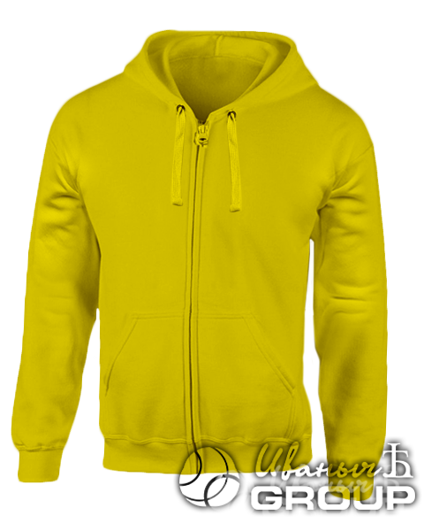 Желтая толстовка мужская