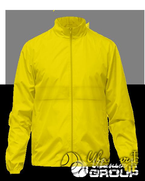 Желтая ветровка на заказ