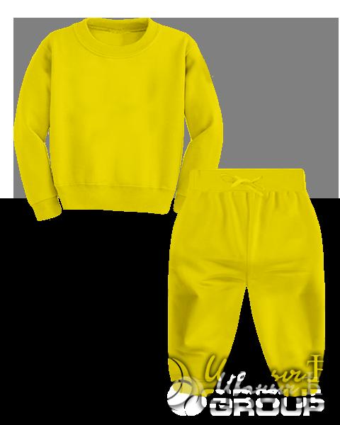 Желтый костюм детский