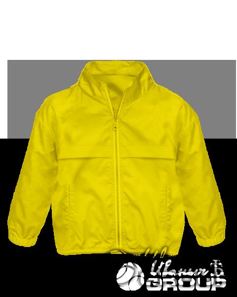 Желтая ветровка детская