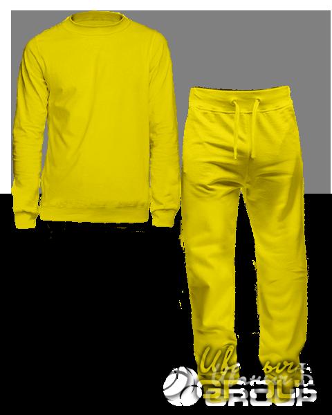 Желтый костюм мужской