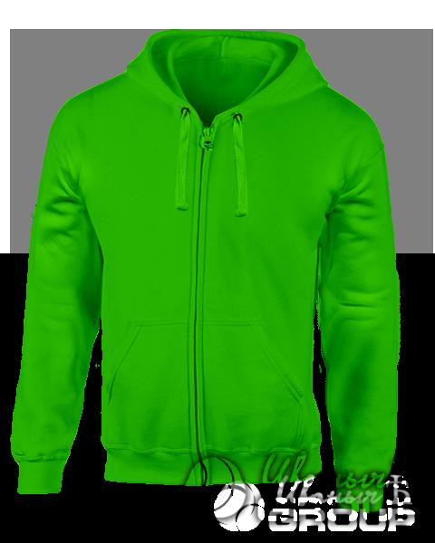 Зеленая толстовка мужская