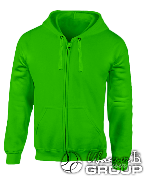 Зеленая толстовка