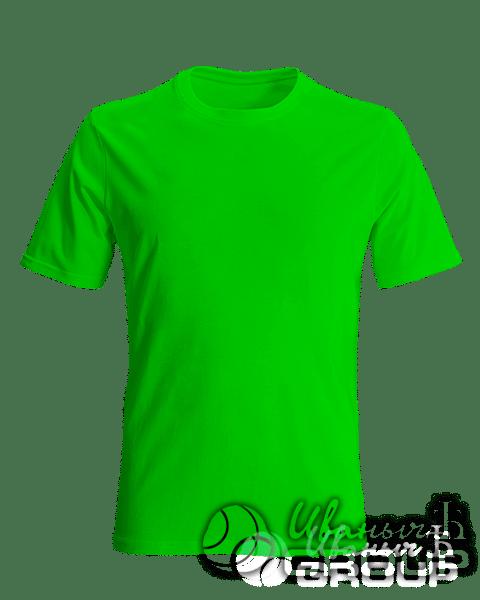 Зеленая футболка на заказ