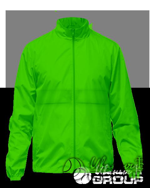 Зеленая ветровка на заказ