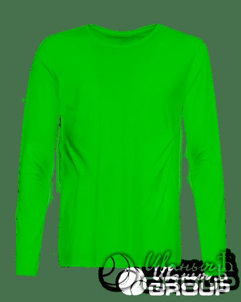 Зеленый лонгслив на заказ