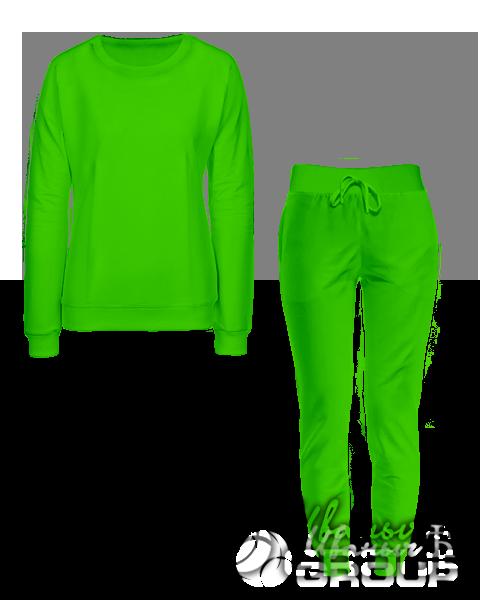 Зеленый костюм мужской