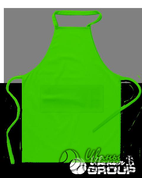 Зеленый фартук