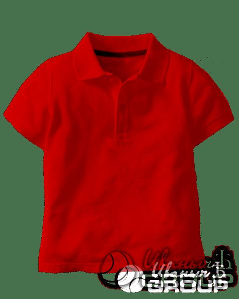 Красное поло детское