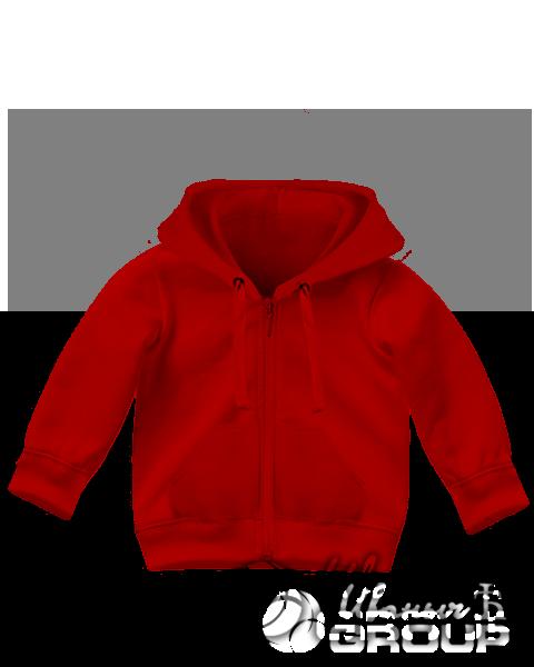 Красная толстовка детская