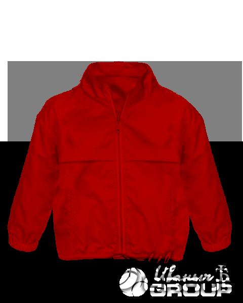 Красная ветровка