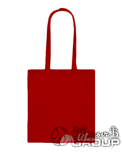 Красная сумка бязь