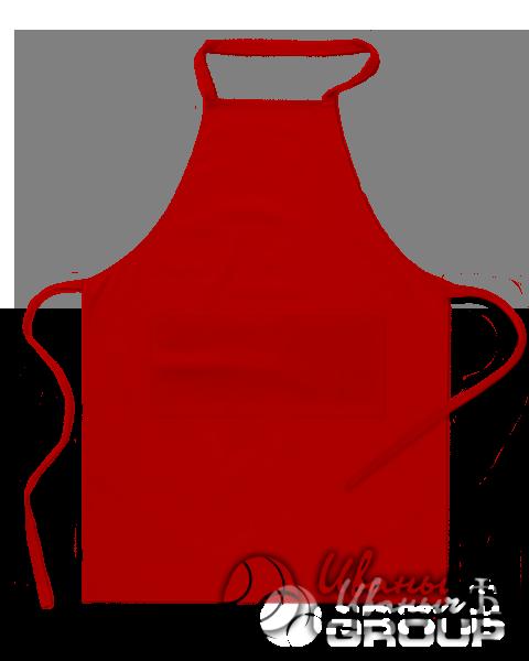 Красный фартук