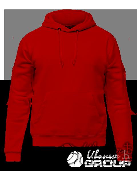 Красное худи премиум