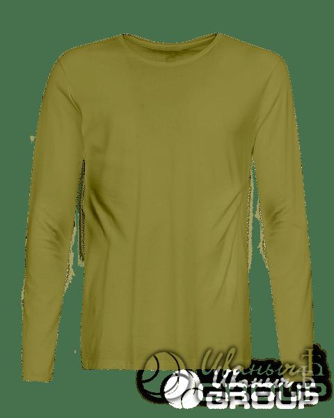 Оливковый лонгслив на заказ