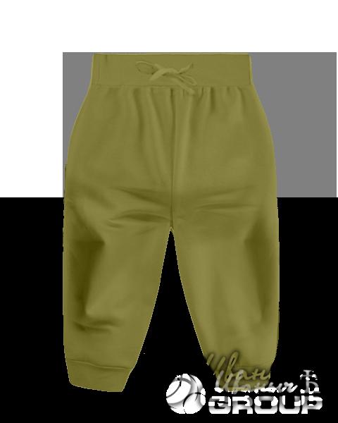 Оливковые штаны детские