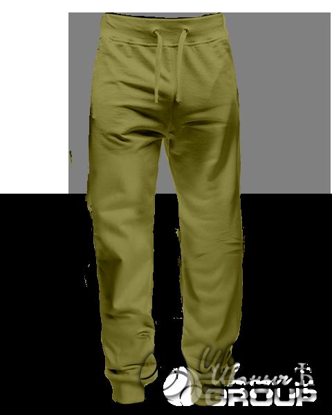 Оливковые штаны мужские