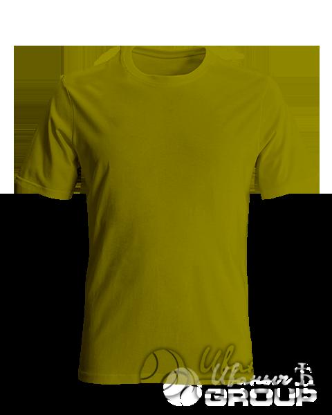 Оливковая футболка