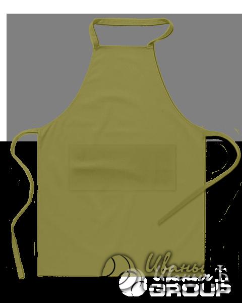 Оливковый фартук