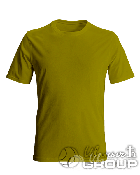 Оливковая мужская футболка