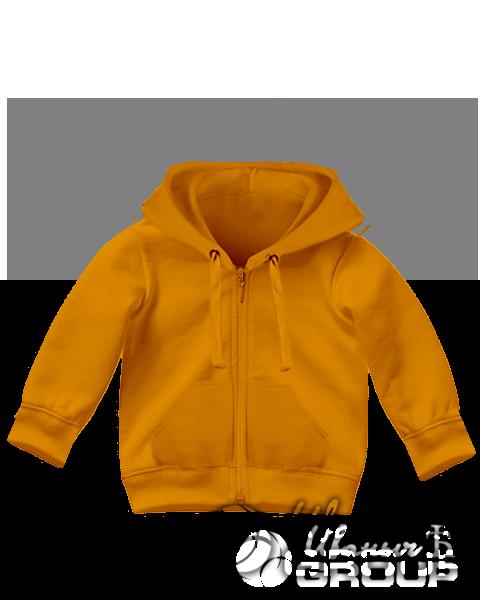 Оранжевая толстовка детская