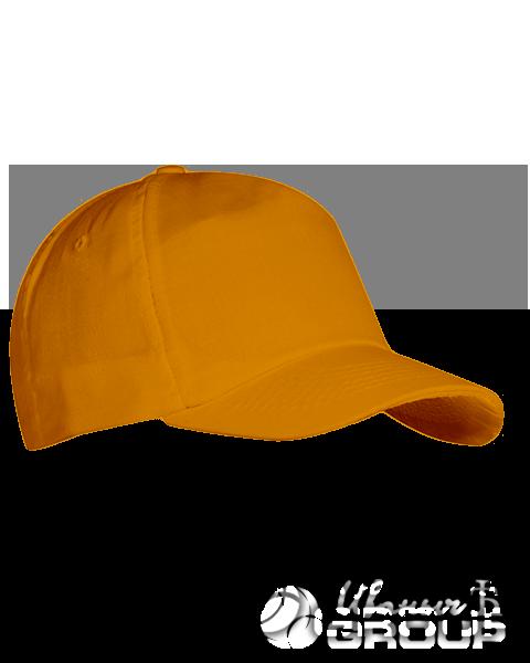 Оранжевая бейсболка на липучке