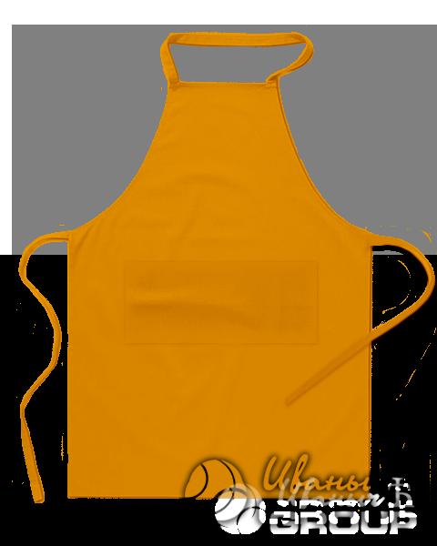 Оранжевый фартук