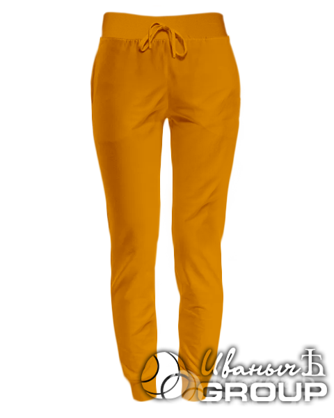 Оранжевые штаны женские