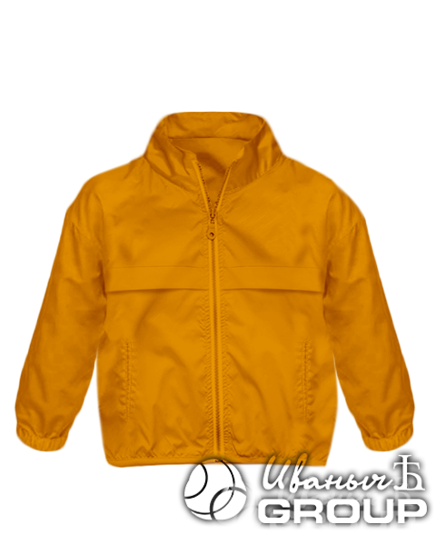 Оранжевая ветровка детская
